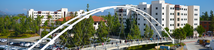SDSU walking bridge