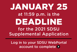 Submit the Supplemental Application by January 25, 11:59 p.m.
