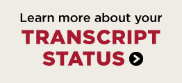 Learn more about your transcript status.