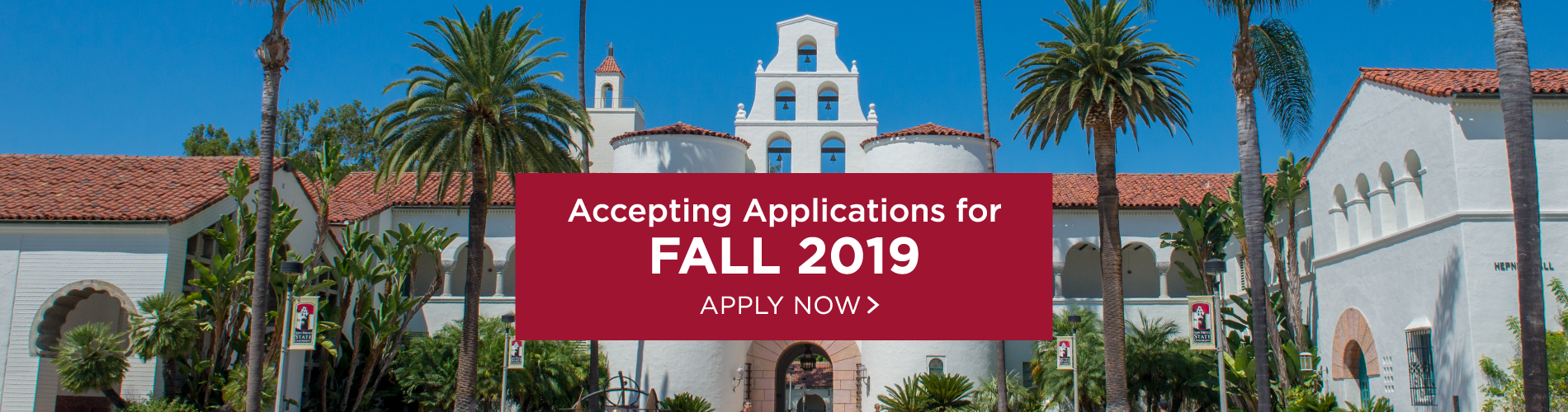 Now accepting applications for fall 2019.