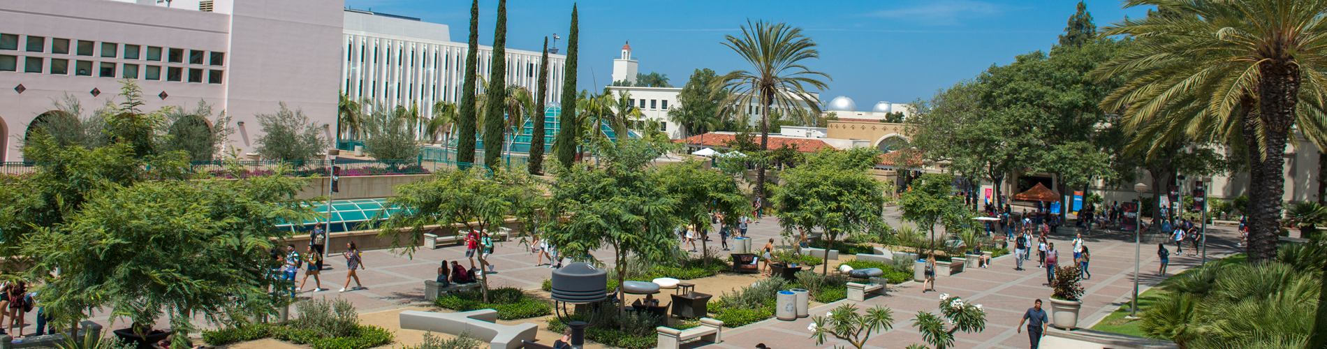 Beautiful SDSU campus